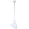 This item: Warehouse White 10-Inch Aluminum Angled Pendant with 24-Inch Downrod