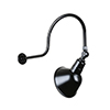 This item: Angle Shade Black QSNHL-C Arm 12-Inch Outdoor Wall Mount with Swivel Knuckle