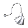 This item: Angle Shade Galvanized QSNHL-C Arm 12-Inch Outdoor Wall Mount with Wire Guard