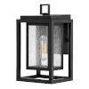 This item: Republic Black 12-Inch One-Light Outdoor Wall Mount