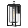 This item: Republic Black 16-Inch One-Light Outdoor Wall Mount