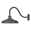 This item: Foundry Museum Bronze 15-Inch One-Light Dark Sky Short Wall Mount