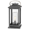This item: Atwater Ash Bronze LED Outdoor Pier Mount
