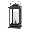 This item: Atwater Black LED Outdoor Pier Mount