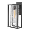 This item: Pax Satin Black 19-Inch One-Light Outdoor Wall Sconce