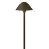 This item: Rex Bronze LED Path Light with Clear Glass