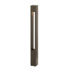 This item: Atlantis Bronze One-Light Bollard Light with Etched Lens