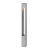 This item: Atlantis Titanium One-Light Bollard Light with Etched Lens
