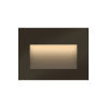 This item: Taper Bronze LED Deck Light with Etched Glass