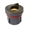 This item: Matte Bronze LED Shielded Well Accent Spot Light with Clear Lens