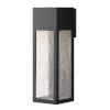 This item: Rook Satin Black 15-Inch LED Outdoor Wall Mount
