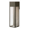 This item: Rook Bronze Six-Inch LED Outdoor Wall Mount