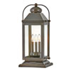 This item: Anchorage Light Oiled Bronze Three-Light LED Outdoor Pier Mount
