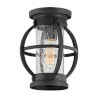 This item: Chatham Museum Black One-Light Outdoor Flush Mount