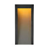 This item: Taper Textured Black Seven-Inch Led Outdoor Wall Mount