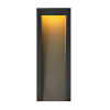 This item: Taper Textured Black Nine-Inch Led Outdoor Wall Mount