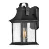 This item: Grant Textured Black Seven-Inch One-Light Outdoor Wall Mount