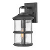 This item: Lakehouse Black 15-Inch One-Light Outdoor Wall Mount