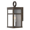 This item: Porter Oil Rubbed Bronze One-Light 13-Inch Outdoor Wall Mount