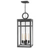 This item: Porter Aged Zinc One-Light Outdoor Pendant