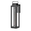 This item: Sag Harbor Black 21-Inch One-Light Outdoor Wall Mount