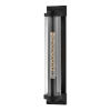 This item: Pearson Textured Black One-Light Outdoor Wall Mount