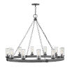 This item: Sawyer Aged Zinc 12-Light Outdoor Chandelier