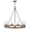 This item: Sawyer Sequoia Nine-Light LED Outdoor Chandelier