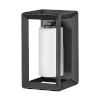 This item: Rhodes Brushed Graphite 13-Inch One-Light Outdoor Wall Mount