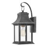 This item: Adair Aged Zinc One-Light Outdoor Wall Mount