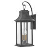 This item: Adair Aged Zinc Two-Light Outdoor Wall Mount