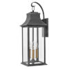 This item: Adair Aged Zinc Nine-Inch Two-Light Led Outdoor Wall Mount