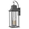 This item: Adair Aged Zinc Three-Light Outdoor Wall Mount