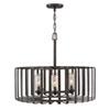 This item: Reid Brushed Graphite Six-Light Outdoor Pendant