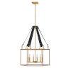 This item: Monroe Heritage Brass Six-Light Chandelier