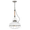 This item: Brooklyn Burnished Bronze 14-Inch One-Light Pendant