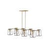 This item: Filmore Heritage Brass Eight-Light Chandelier