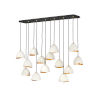 This item: Nula Shell White 14-Light Chandelier