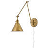 This item: Arti Heritage Brass Eight-Inch One-Light Wall Sconce