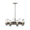 This item: Reeve Black Oxide Eight-Light Chandelier
