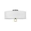 This item: Link Black 13-Inch Four-Light LED Semi-Flush Mount