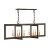 This item: Anders Metallic Matte Bronze Eight-Light Chandelier
