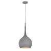 This item: Ziggy Matte Gray One-Light Pendant
