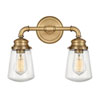 This item: Fritz Heritage Brass Two-Light Bath Vanity