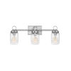 This item: Penley Polished Nickel Three-Light Bath Vanity