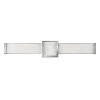 This item: Pietra Chrome 25-Inch Led Ada Bath Bar