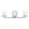This item: Rixon Chrome Three-Light LED Bath Vanity