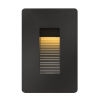 This item: Luna Satin Black LED Deck Light