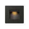 This item: Luna Satin Black 5-Inch 3000K LED Deck Light