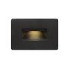 This item: Luna Satin Black 3000K LED Deck Light